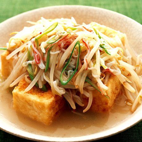 揚げ豆腐のもやしあん by小林まさみさんの料理レシピ - レタスクラブニュース