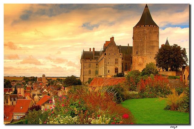 Chateau of Chateaudun, France