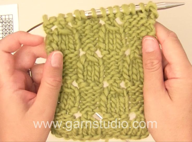 DROPS Knitting Tutorial: How to work after chart M.1 in DROPS 112-37