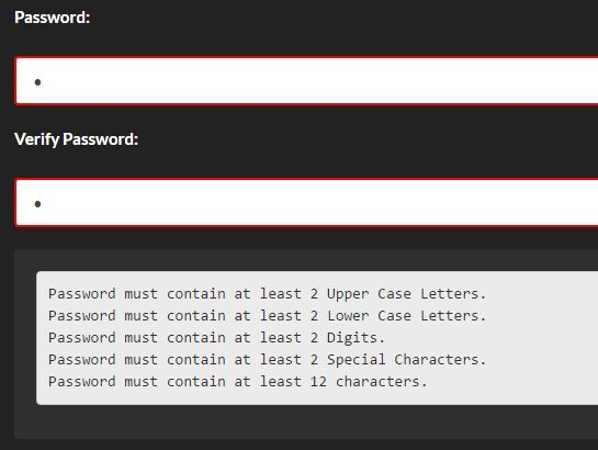 A lightweight #jQuery plugin #password validation plugin that validates the strength of a password and provides an instant feedback whether the password meets the requirements you specify.