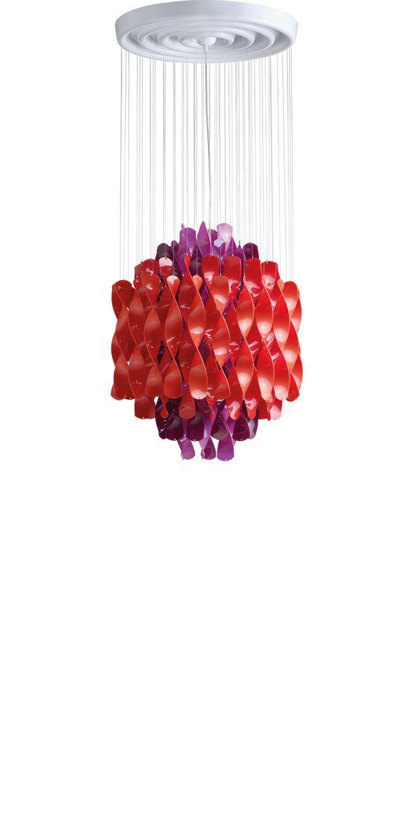 SPIRAL SP1 - Hanging lamp designed in 1969 by Verner Panton