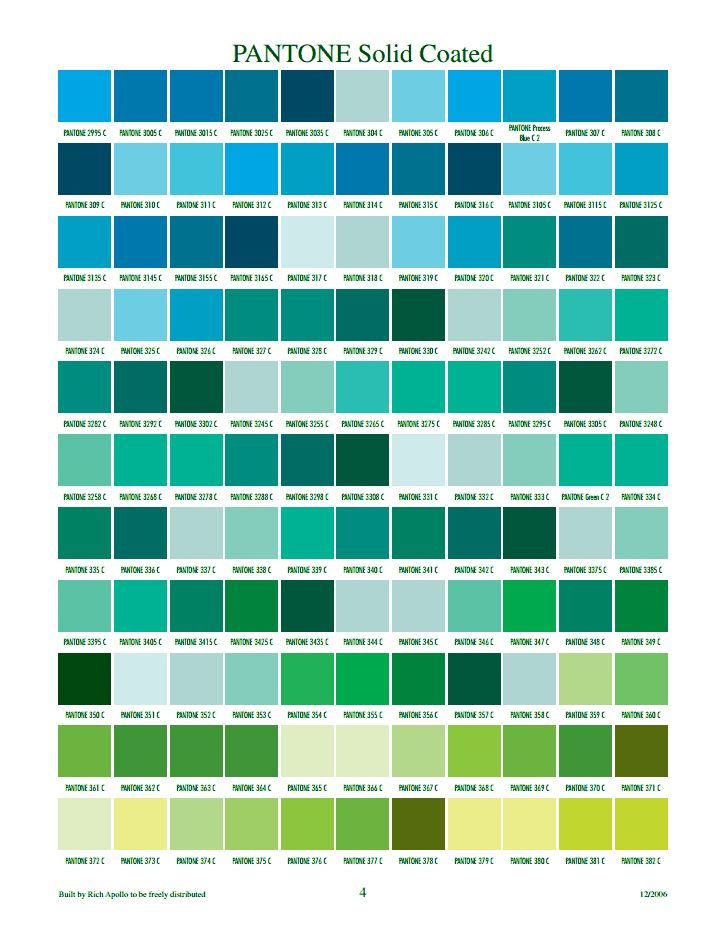 PANTONE Solid Coated 4                                                                                                                                                      More