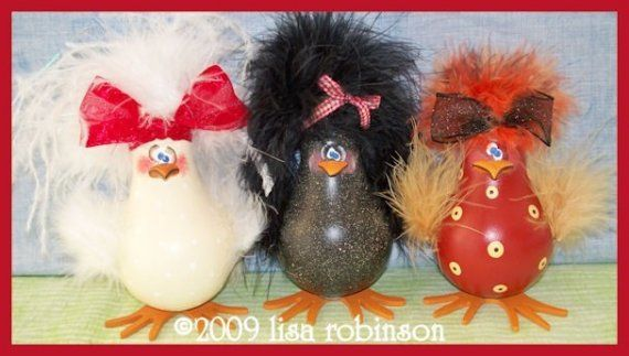 INSTANT DOWNLOADED pdf Pattern chicken hen recycled light bulb farm bird crow ofg pRiM cHiCk acrylic painting paTTern 726 shabby chicks