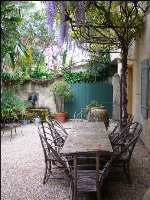17 beste idee n over mediterrane tuin op pinterest spaanse tuin spaanse patio en droge tuin - Foto droge tuin ...
