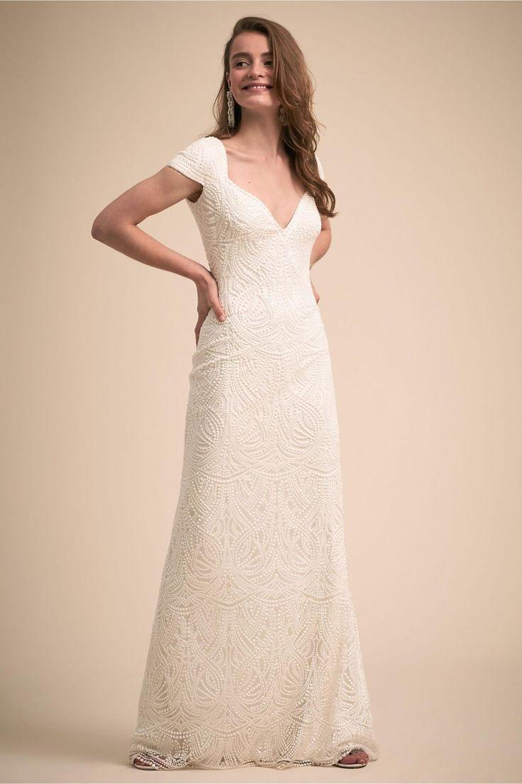 Bhldn leeds tadashi shoji wedding dress new size 0