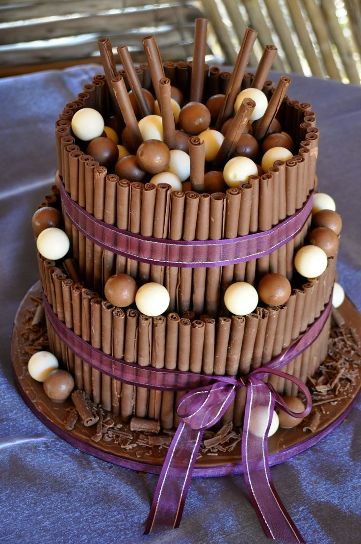 Tier Chocolate Cigarillos Lindt Lindor Wedding Cake More