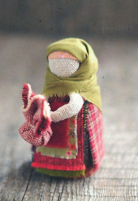 Малышка-подорожница. Обрядовая куколка, хранительница пути и благополучия в…
