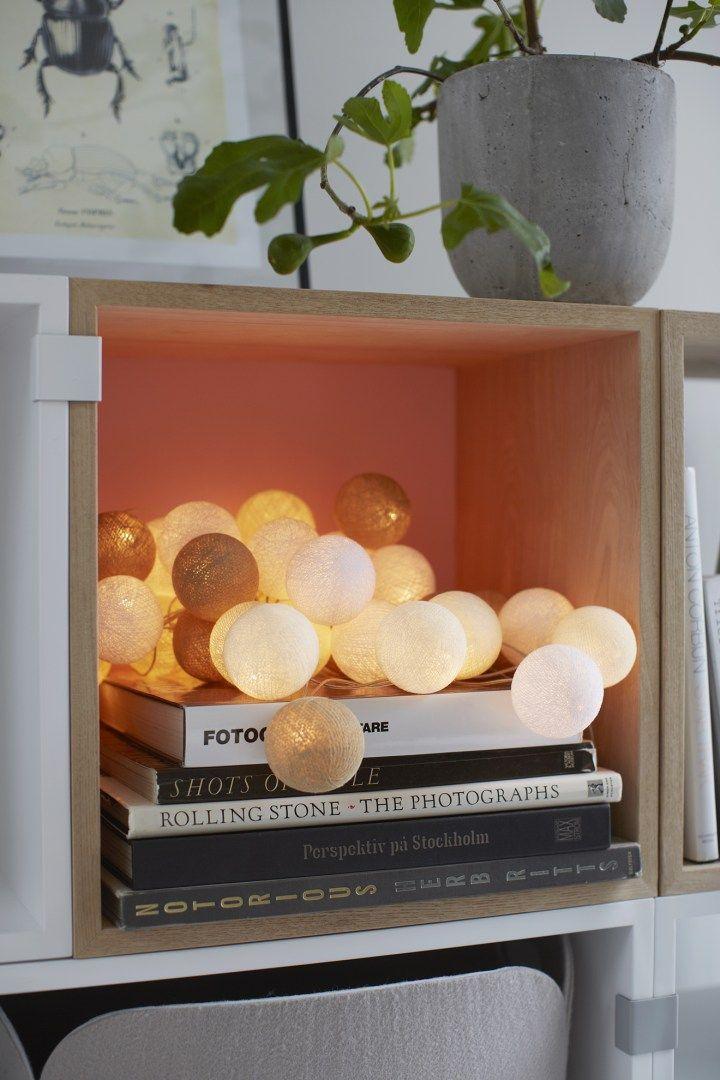Post: Guirnaldas de luces Irislights --> accesorios hogar, decoración interiores, diseño nórdico, diseño sueco, guirnaldas de bolas, guirnaldas de luces, Irislights, luces bolas algodon, luces en cadena, luces navidad, diseño sueco, home design