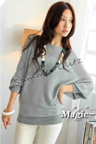 grey but knitted material