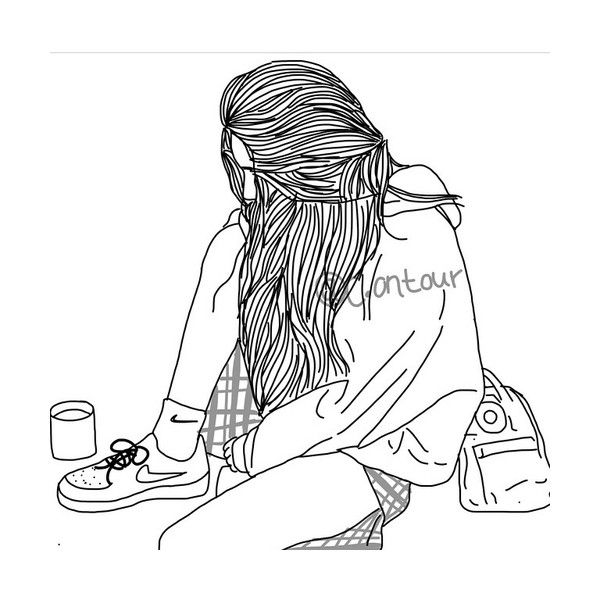 We Heart It Found On Polyvore Featuring Outline And Filler