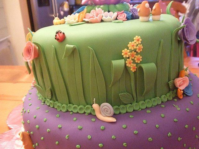 tinkerbell cake   Tinkerbell Cake   Flickr - Photo Sharing!