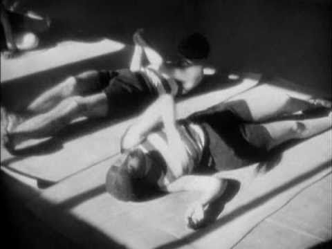 Les Mystères du Château de Dé (1929, Man Ray) Film depicts a pair of travellers setting off from Paris and travelling to the Villa Noailles in Hyères. The film opens from a night scene to two masked individuals at a cafe. They decide their actions on the role of dice.  A throw of dice will never abolish chance.  The hands are that of mannequins, their faces devoid of detail...