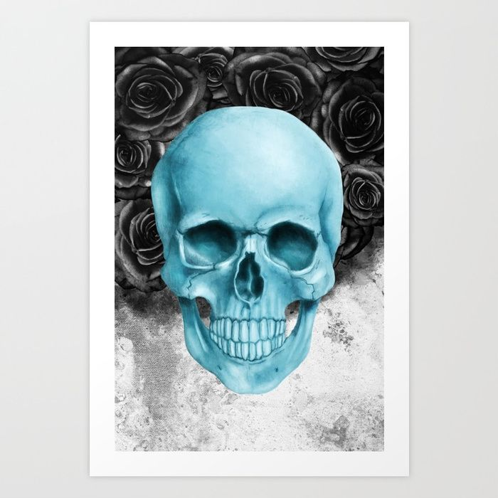 SKULL art. FOR SALE price from 29,99$.Collect your choice of gallery quality Giclée, or fine art prints custom trimmed by hand in a variety of sizes with a white border for framing. #skull #skullart #streetart