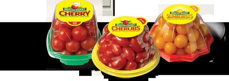 NatureSweet Cherub tomato packaging