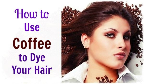 Coffee  has been used as a hair dye and treatment for a long time.   Natural ground coffee is an excellent natural tool to darken hair and give it a beautiful healthy glow and even naturally dye your hair.
