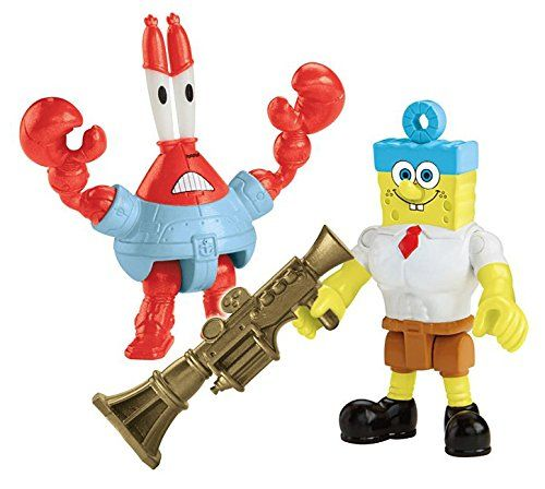 Fisher-Price Imaginext Nickelodeon SpongeBob SquarePants Movie (2-Pack) Invinci Bubble and Sir Pinc @ niftywarehouse.com #NiftyWarehouse #Spongebob #SpongebobSquarepants #Cartoon #TV #Show