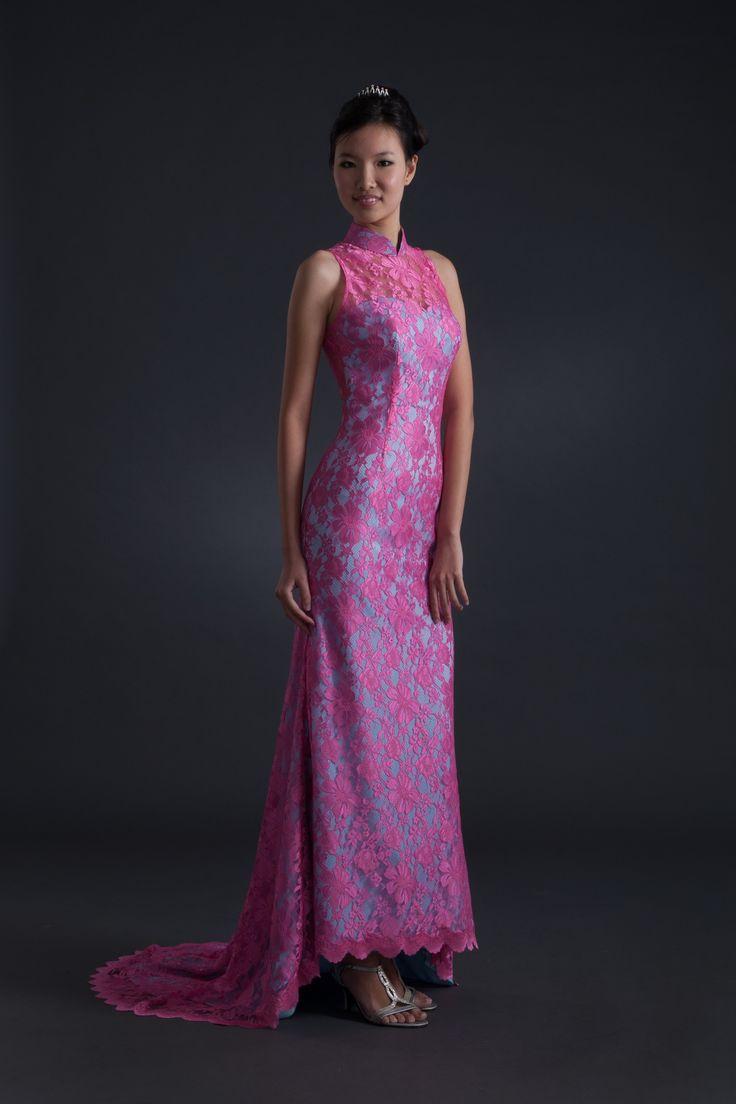 Ok wedding gallery the beauty dress of cheongsam 2013 - Zion Creation Long Dresses
