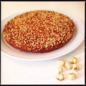 Torta 7 vasetti nocciole e cioccolato