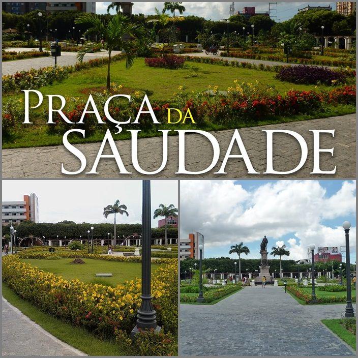 Praça da Saudade. Foi Revitalizada em 2010. Na Praça há o monumento central de Tenreiro Aranha, primeiro presidente da Província do Amazonas, sustentado de maneira imponente em um grande altar de mármore adornado com escudos de bronze.