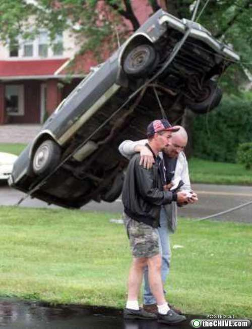 crazy car crashes 6 Car crashes that beg the question, how did they do that? (31 Photos)
