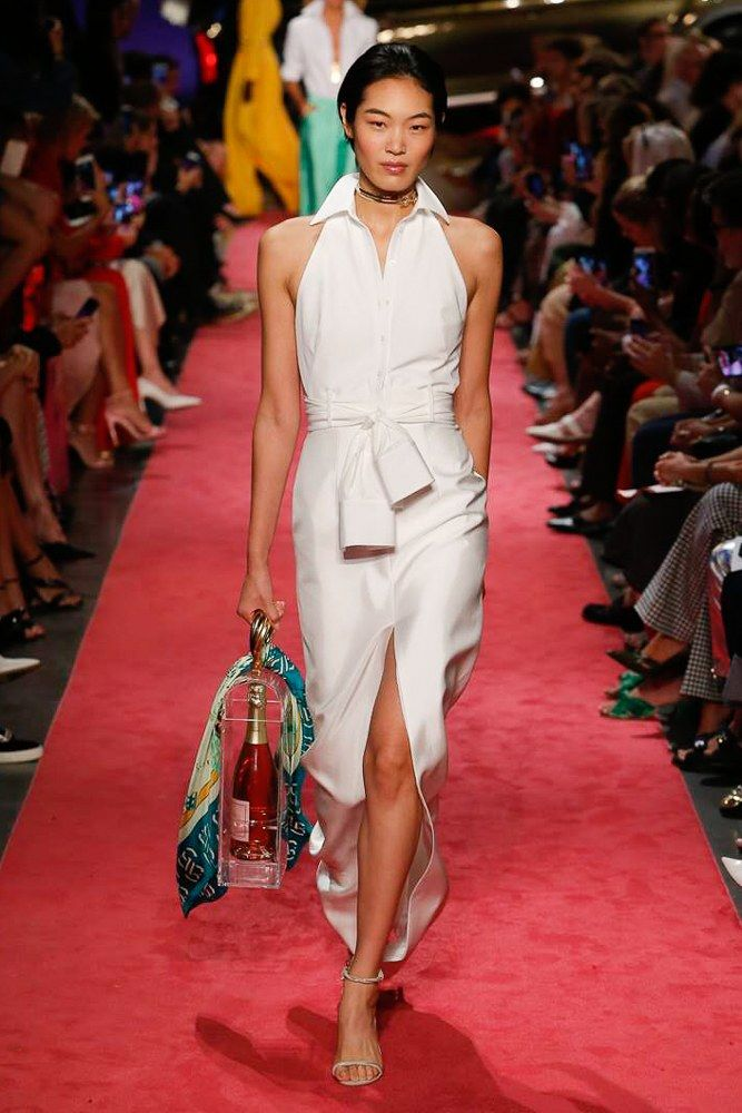 7b2ebe1944 Brandon Maxwell Spring Summer 2019 Ready-to-Wear Collection ...