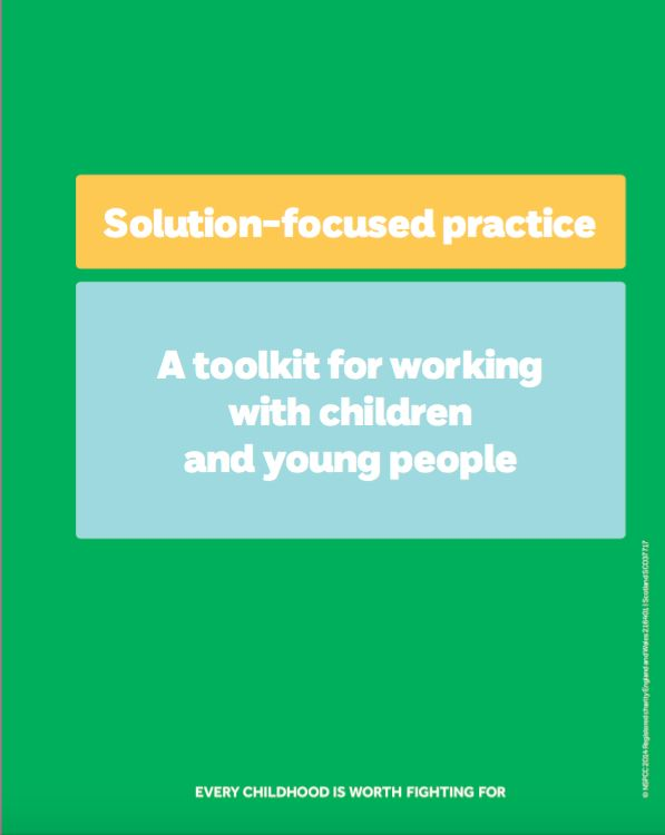 Solution-focused practice toolkit for working with children and young people