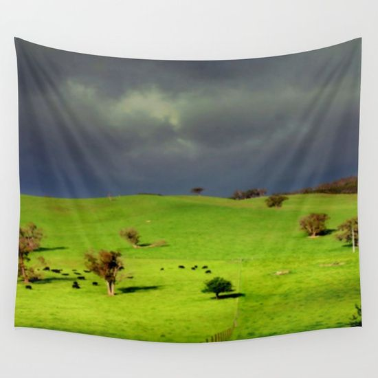 Ominous Wall Tapestry