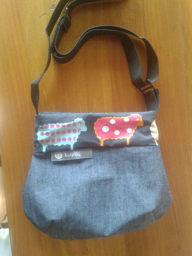 Kindergarten-Tasche mit Schafen / kugelig.com