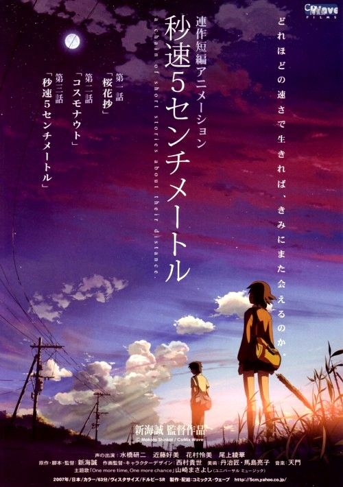 5 Centimeters per Second...