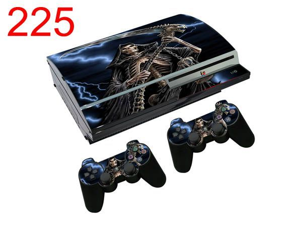Grim Reaper Protective Sticker For Sony Playstation 3 Fat Skins Console Controller Cover