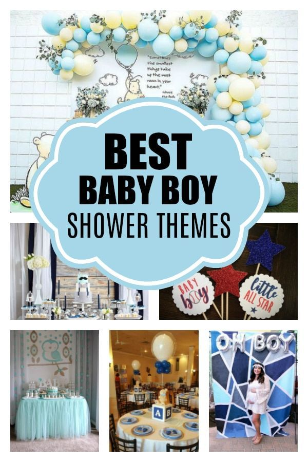 Awesome Boy Baby Shower Themes Pretty My Party Party Ideas Prettymyparty Babyboy Boybabyshow Boy Shower Themes Boy Baby Shower Themes Baby Shower Themes