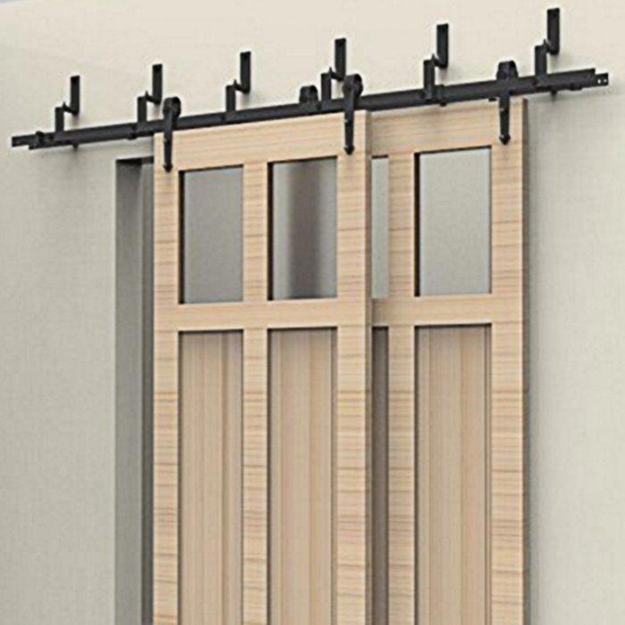Modern Barn Door Hardware Tiger Alu100 Stainless Door Hardware Wood Doors Interior Interior Barn Doors Doors Interior