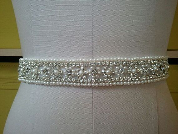 SALE Wedding Belt Bridal Belt Sash Belt by LucyBridalBoutique