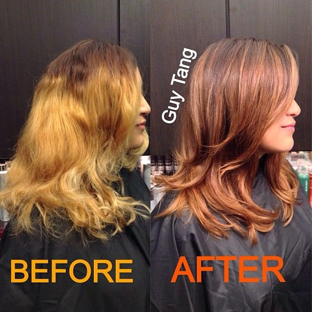 how to fix bad blonde balayage