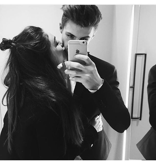 Kiss. Love. Gentleman. Cute together. Couple. Relationship Goal. Boyfriend Girlfriend.