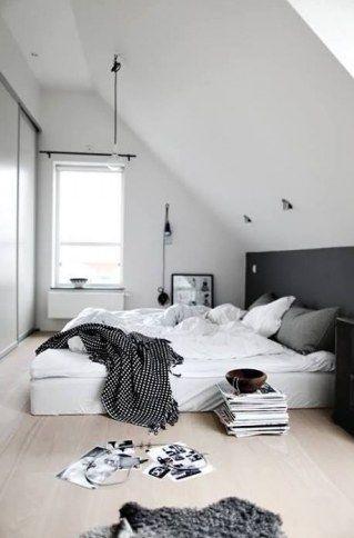 Die besten 25+ Dachgeschoss schlafzimmer Ideen auf Pinterest - schlafzimmer in weiß