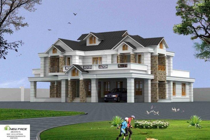 4500 Sq Ft Luxury Kerala Home Design Kerala House Design Luxury House Designs Villa Design