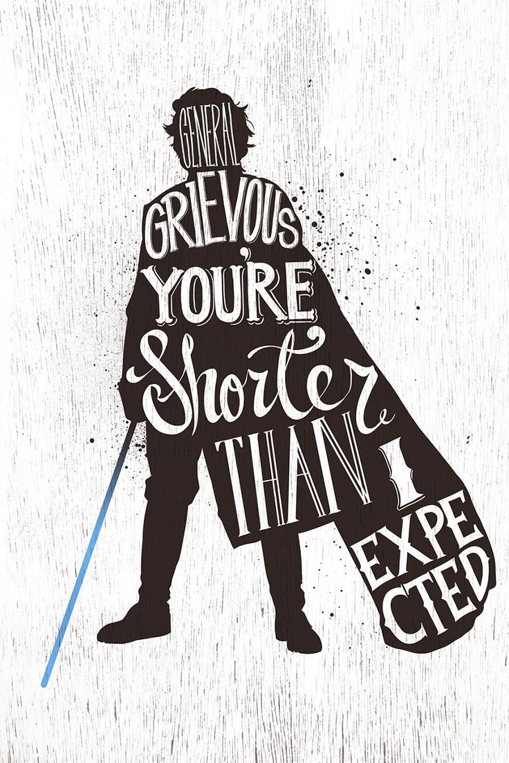 I Hand-Lettered Famous Star Wars Quotes | Bored Panda