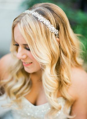 Bride in Crystal Headpiece | photography by http://www.lindsaymaddenphotography.com/