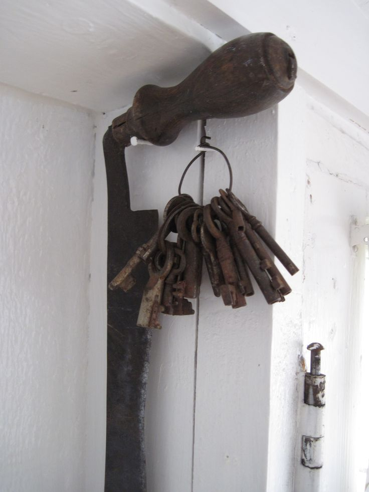 Old keys, Toabh Na Mara Cottage, Pugwash, Nova Scotia, Canada.  Photo Cynthia Bennett.