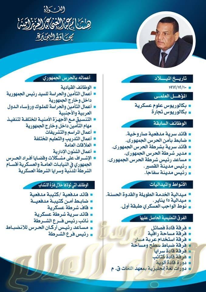 أدي اللواء هشام عبد الغني عبد العزيز أمنه اليمين الدستورية محافظا للبحيرة Sis