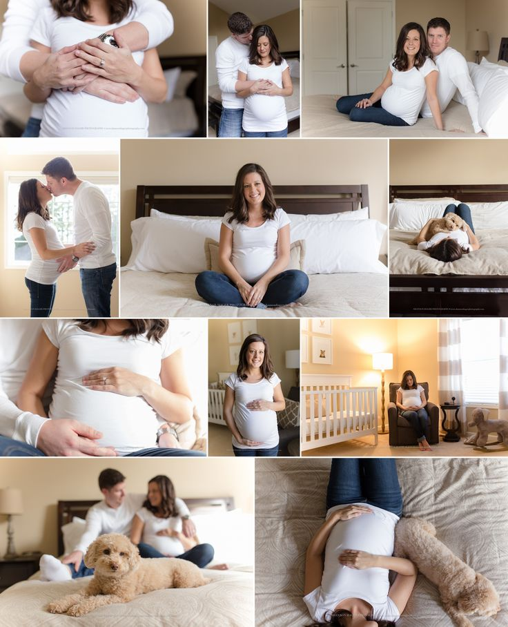 Portland Maternity Photographer, Lifestyle Maternity Session, Maternity Photos with Dog at home, Shannon Hager Photography