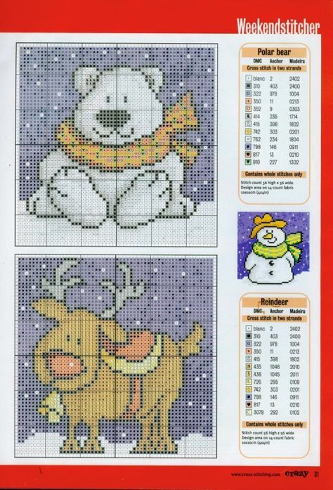Gallery.ru / Photo # 20 - Cross Stitch Crazy 028 December 2001 - tymannost