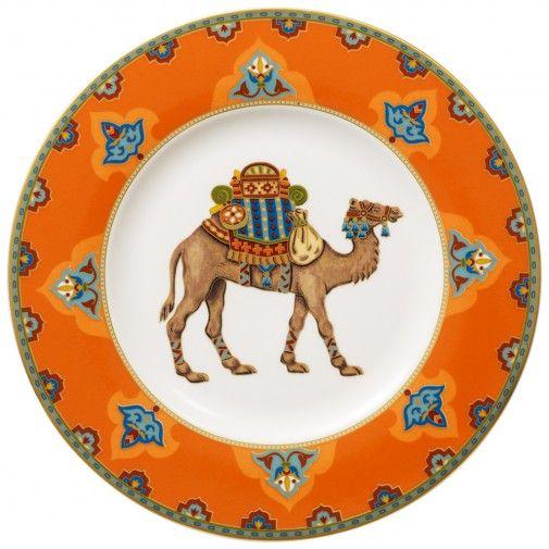Villeroy & Boch Samarkand Mandarin Salad Plate 8 1/2 in-01