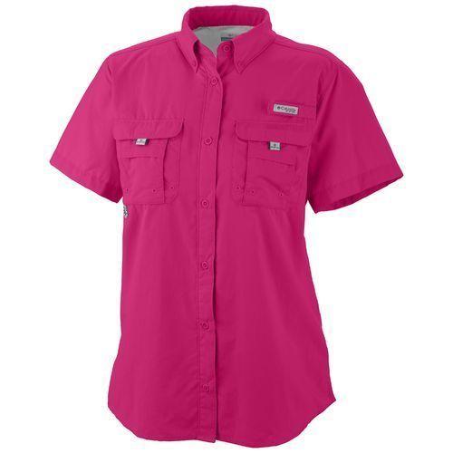 Columbia sportswear women 39 s bahama short sleeve shirt for Girls fishing shirts