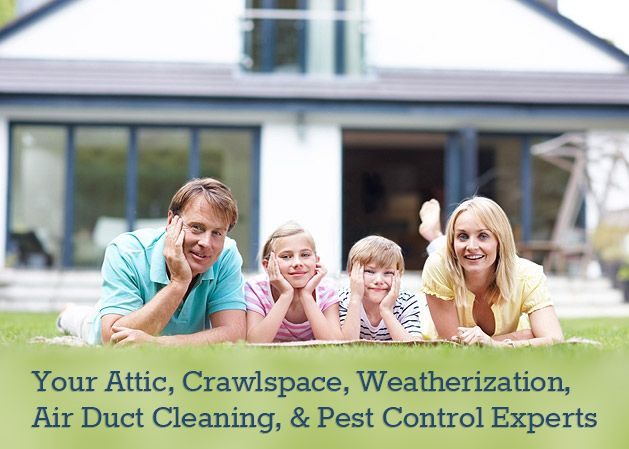 Crawl Space Cleaning - Attic and Crawl Space Insulation, Cleaning, Pest Control, Weatherization and Restoration, Seattle, Tacoma, Everett, WA