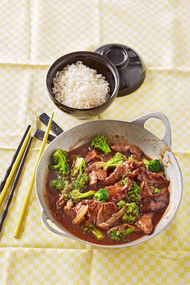 Asiatische Rindfleisch-Brokkoli-Pfanne (Broccoli Recipes)