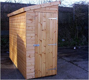 The Streamline is a handy little shed that can fit in a narrow space,. Perfect as a bike store or for tidying away your wheelie bins. This and other small storage options are available from Adrian hall Garden Centres, Feltham.