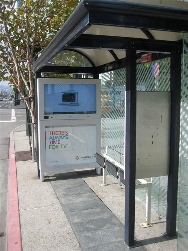 #There's #always #time for #TV #Silver #OBIE #OOH #bus #Shelter