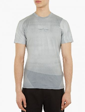 Stone Island Grey Printed Cotton T-Shirt The Stone Island Printed Cotton T-Shirt for SS16, seen here in grey. - - - This t-shirt from Stone Island is crafted from premium cotton and features a unique motif achieved through an innovative ligh http://www.MightGet.com/january-2017-13/stone-island-grey-printed-cotton-t-shirt.asp